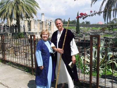 Carroll and Donna in Israel